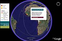 Portuguese history in Google Earth
