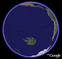 Audioslave Nation in Google Earth