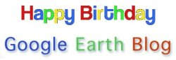 Happy Birthday Google Earth Blog