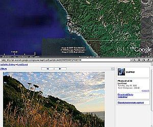 Moon Trees in Google Earth