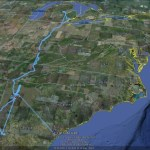 View your Google Latitude history in Google Earth