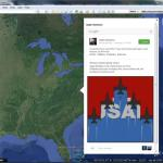 Embed your Google+ posts into Google Earth