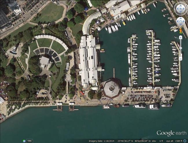 new google earth imagery