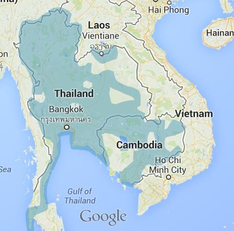 Cambodia-Street-View-coverage