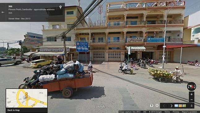 Street View Cambodia