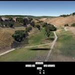 Google Earth plugin showcase: Paragliding simulator