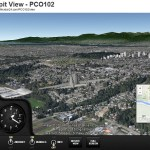 Google Earth plugin showcase: FlightRadar 24