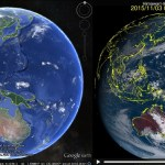 The 'Clouds' layer in Google Earth
