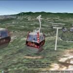 4D Gondola in Google Earth
