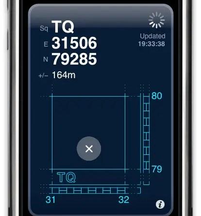 Screenshot, courtesy of the app's designer mackerron.com