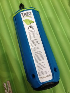 Thermarest Treo chair packed