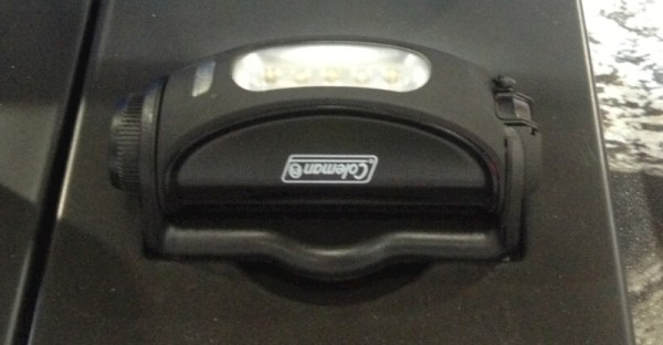coleman magnetic torch