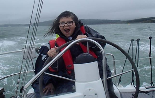 Gedling cancer survivor takes to high seas in four-day yachting adventure