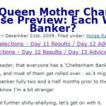 Geegeez Horse Racing and Systems Blog