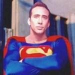 nicolas cage superman tim burton movie
