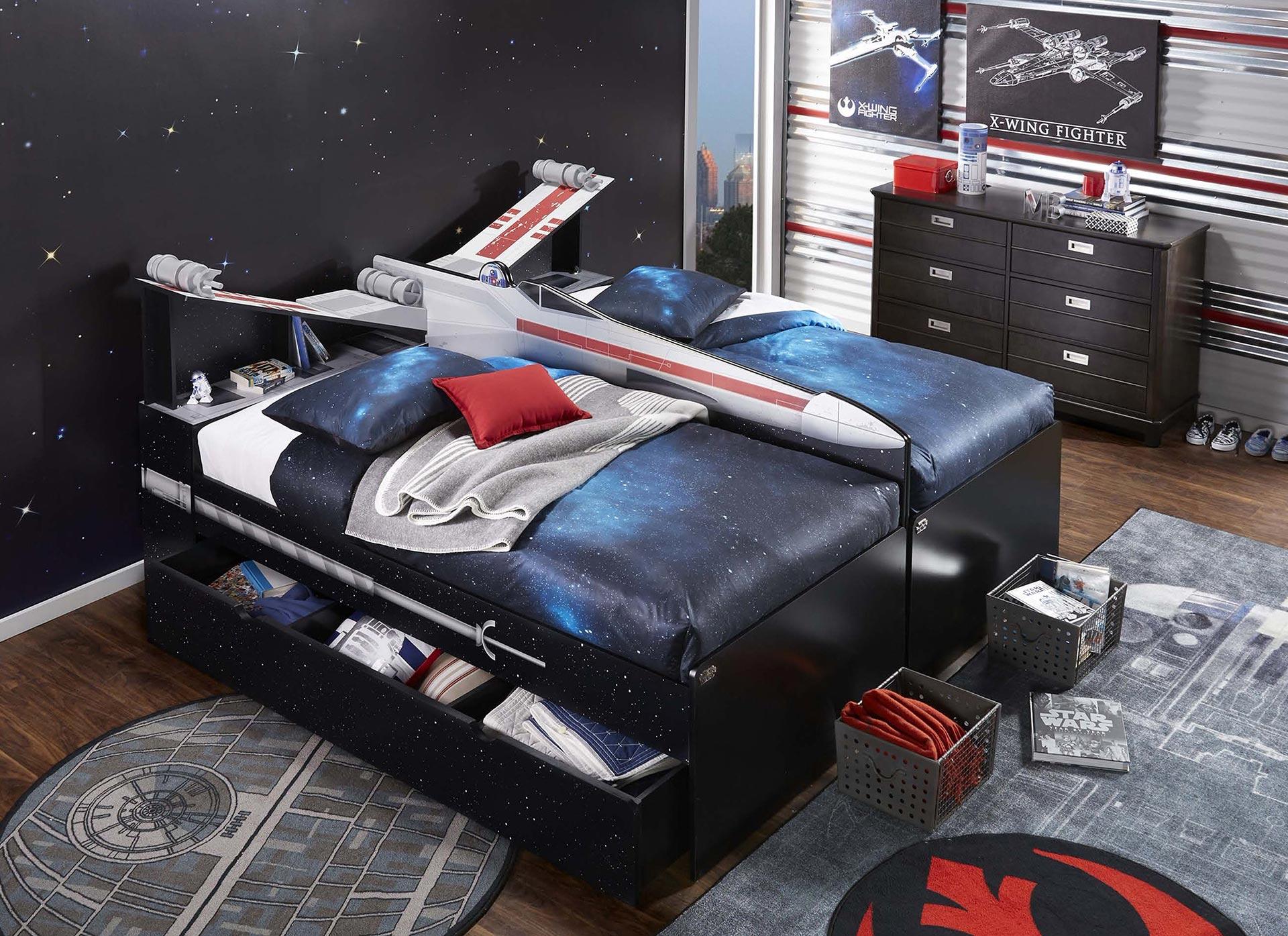 Fullsize Of Star Wars Bed