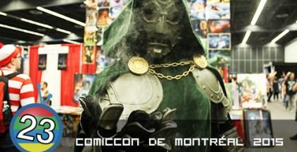 Comiccon de Montréal 2015
