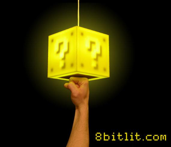 Question Block Lamp 1