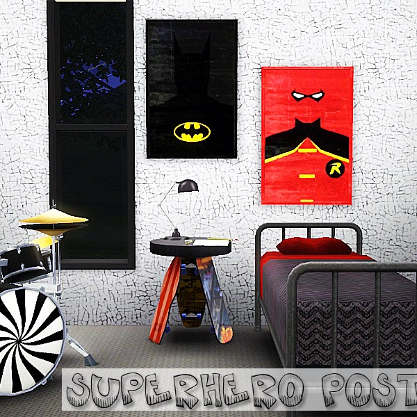 Minimalist Superhero Poster 2