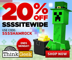 Think Geek 20% off