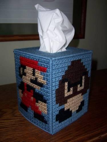 Super Mario Brothers Tissue Box 2