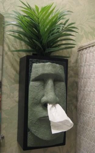 Tiki Tissue Dispenser 1