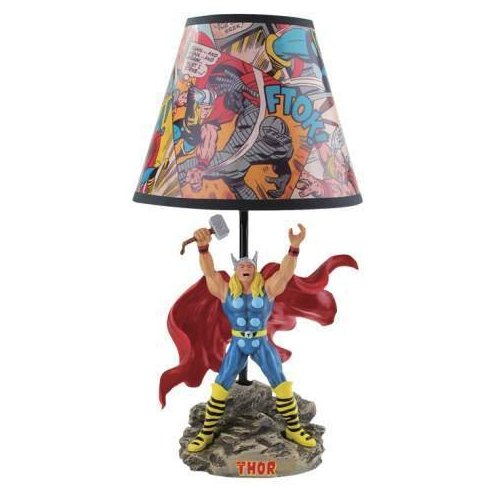The Mighty Thor Statue Lamp