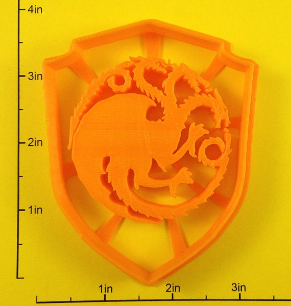 Game of Thrones Sigil Cookie Cutters 6