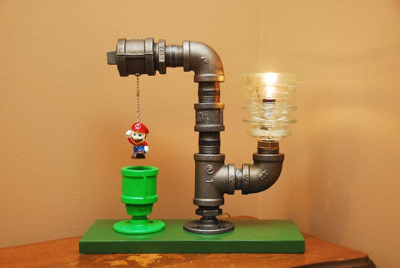Super Mario Bros. Pipe Lamps