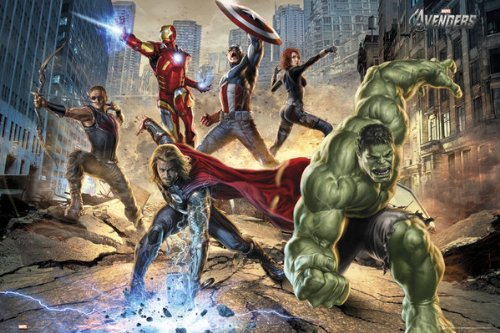 Marvel's 'The Avengers' Print