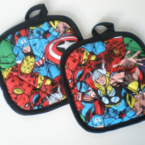 Marvel Pot Holders