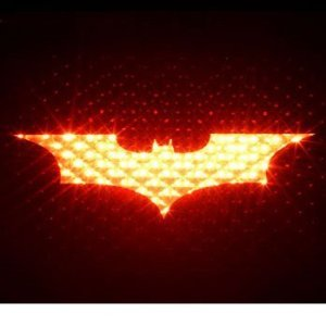 BATMAN 3rd Brakelight Decal