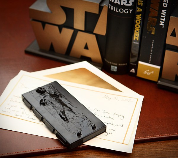 Star wars han solo in carbonite business card holder geek decor han solo in carbonite business card holder geek decor colourmoves
