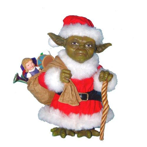 Santa Yoda - Geek Decor