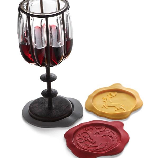 Game of Thrones Wax Seal Coasters - Geek Decor