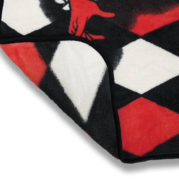 Harley Quinn Throw Blanket - Geek Decor