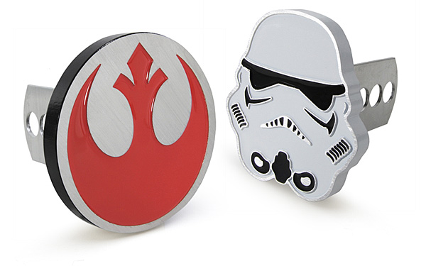 Star Wars Trailer Hitch Cover and Plug - Geek Decor