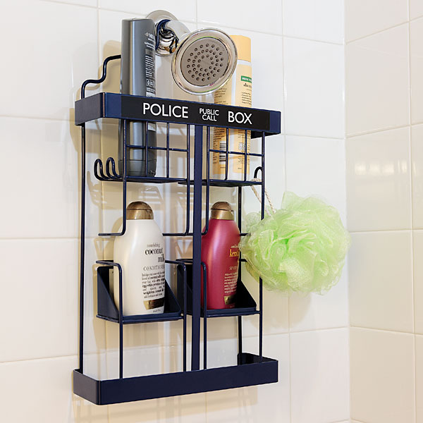Doctor Who TARDIS Shower Rack - Geek Decor
