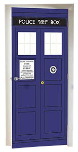 Doctor Who TARDIS Wall Decal - Geek Decor
