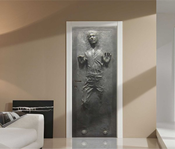 Han Solo in Carbonite Wall Graphic - Geek Decor