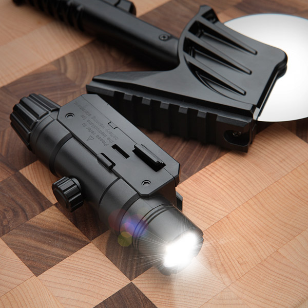 Tactical Laser-Guided Pizza Cutter - Geek Decor