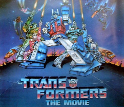 Transformers 1986 Movie Poster - Geek Decor