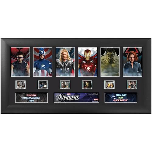 The Avengers Movie Deluxe Film Cell - Geek Decor