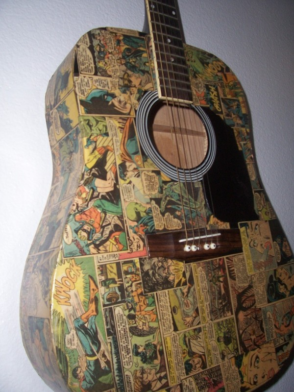 Comicbook Guitar