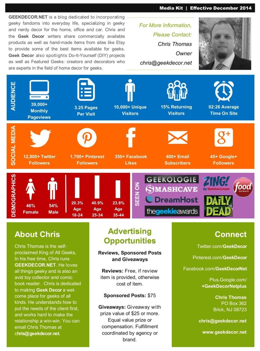 Media Kit - November 2014