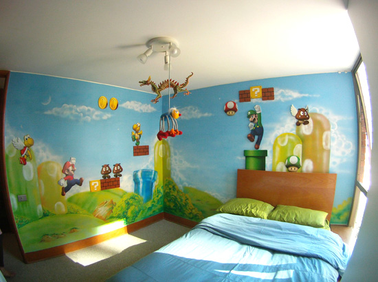 Get inspiration with geeky bedroom ideas geek decor for Geek bedroom ideas