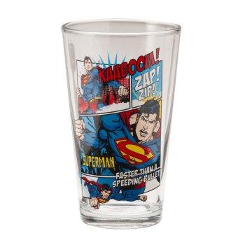Vandor 66012 DC Comics Glasses - Geek Decor