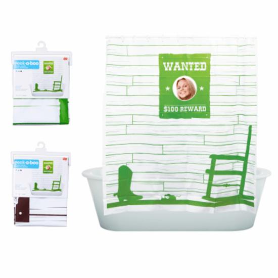 Wanted Shower Curtain - Geek Decor