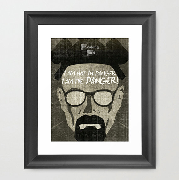 Geeky Posters at Etsy - Geek Decor