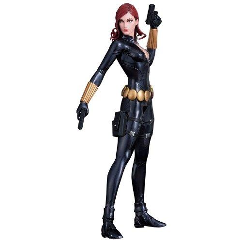 Black Widow Statue Side 1 - Geek Decor